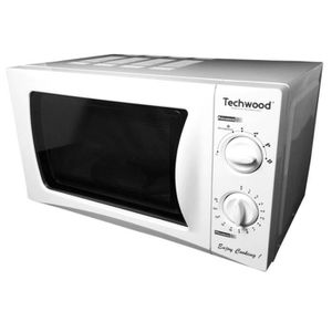 MICRO-ONDES TECHWOOD TMO-208 - Micro-ondes 20L Blanc