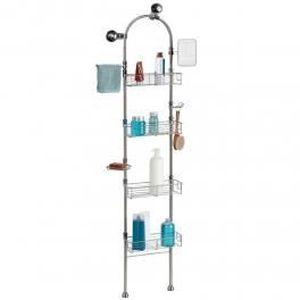etagere pour douche achat vente etagere pour douche pas cher soldes cdiscount. Black Bedroom Furniture Sets. Home Design Ideas