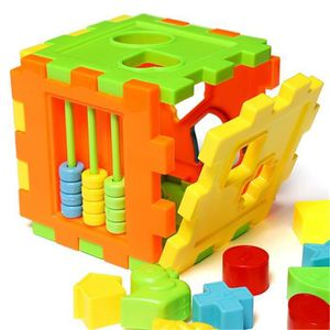 CASSE-TÊTE Jeu de Construction Cubes Jouet Boîte à Formes Blo