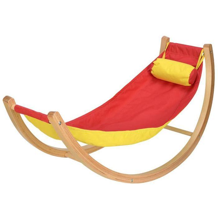 hamac bascule pour enfant 122x48x60cm achat vente. Black Bedroom Furniture Sets. Home Design Ideas