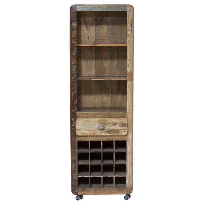 etag re a vin swithome fridge bois bicolore achat vente meuble range bouteille etag re a vin. Black Bedroom Furniture Sets. Home Design Ideas