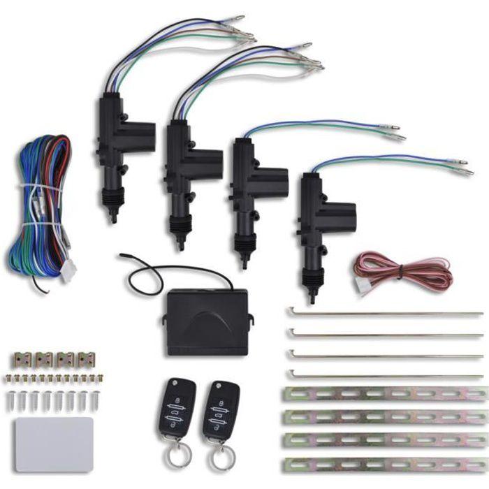 kit de verrouillage centralis universel achat vente ceinture de securite kit de. Black Bedroom Furniture Sets. Home Design Ideas
