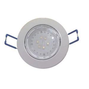 Spot encastrable LED diam?tre 8,2 cm 4W équivalent ? 40W blanc