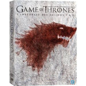 Couverture DVD Game of Thrones