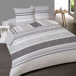 housse de couette avec rabat de pied 220x240 achat vente housse de couette avec rabat de. Black Bedroom Furniture Sets. Home Design Ideas