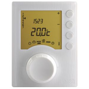 thermostat d 39 ambiance programmable pour chaud achat. Black Bedroom Furniture Sets. Home Design Ideas