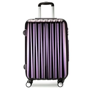 VALISE - BAGAGE Valise cabine 56 cm - Trolley ABS + PC ultra léger