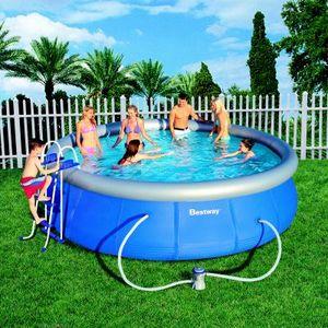 piscine autoport e achat vente piscine autoport e pas cher les soldes sur cdiscount. Black Bedroom Furniture Sets. Home Design Ideas