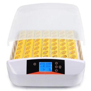 COUVEUSE - INCUBATEUR Couveuse incubateur automatique 56 œufs HOMDOX Int
