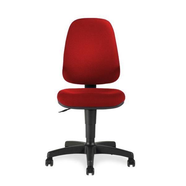 chaise dactylo contact permanent america rouge achat vente chaise de bureau rouge cdiscount. Black Bedroom Furniture Sets. Home Design Ideas