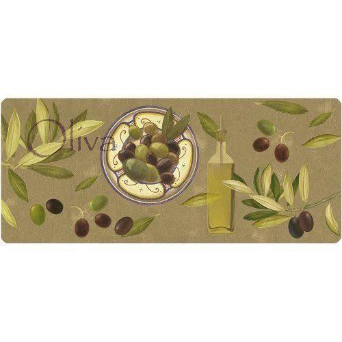 Akzente wolf 92091 tapis de cuisine motif olives for Tapis de cuisine motif olives
