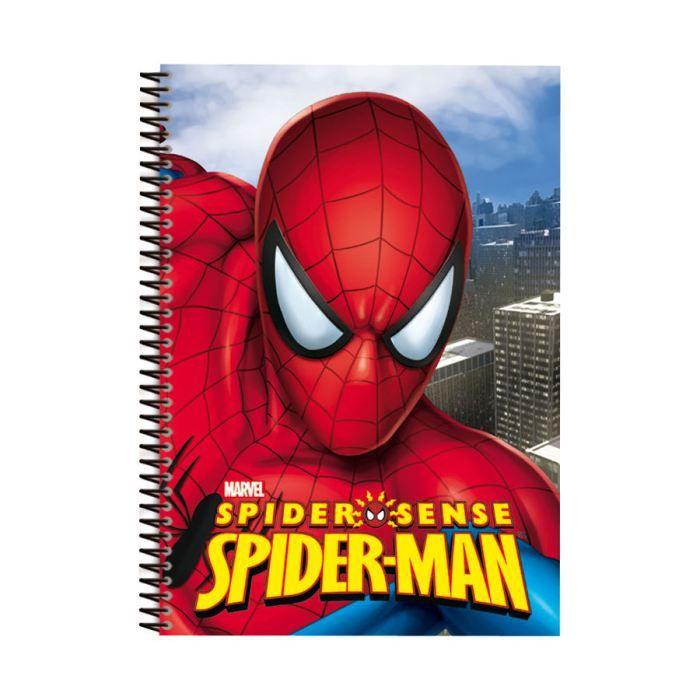cahier de texte spiderman