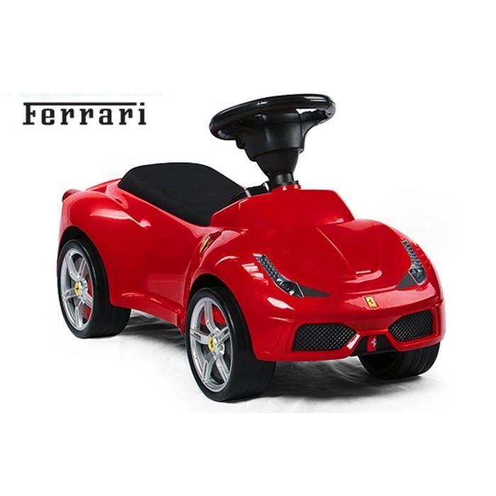 voiture porteur pour enfant ferrari f458 rouge achat vente voiture enfant cdiscount. Black Bedroom Furniture Sets. Home Design Ideas