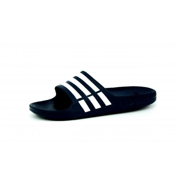 adidas duramo slide bleu homme s bleu bleu achat vente sandale nu pieds cdiscount. Black Bedroom Furniture Sets. Home Design Ideas