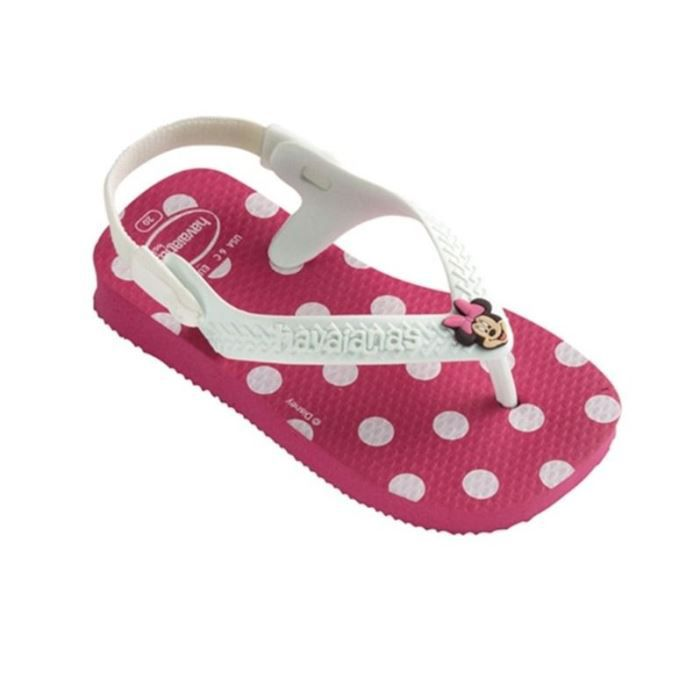 tongs havaianas baby disney minn multicouleur achat vente tong cdiscount. Black Bedroom Furniture Sets. Home Design Ideas