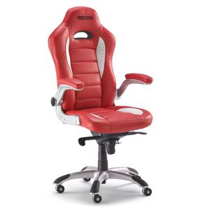 Chaise large assise avec accoudoirs achat vente chaise - Chaise de bureau avec accoudoir ...