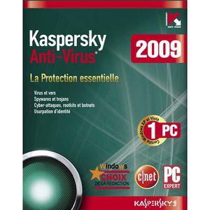 ANTIVIRUS Kaspersky Anti-Virus 2009
