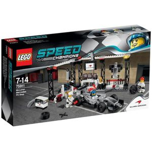 ASSEMBLAGE CONSTRUCTION LEGO® Speed Champions 75911 Stand McLaren Mercedes