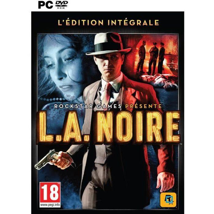 JEU PC La Noire Complete Edition Jeu PC