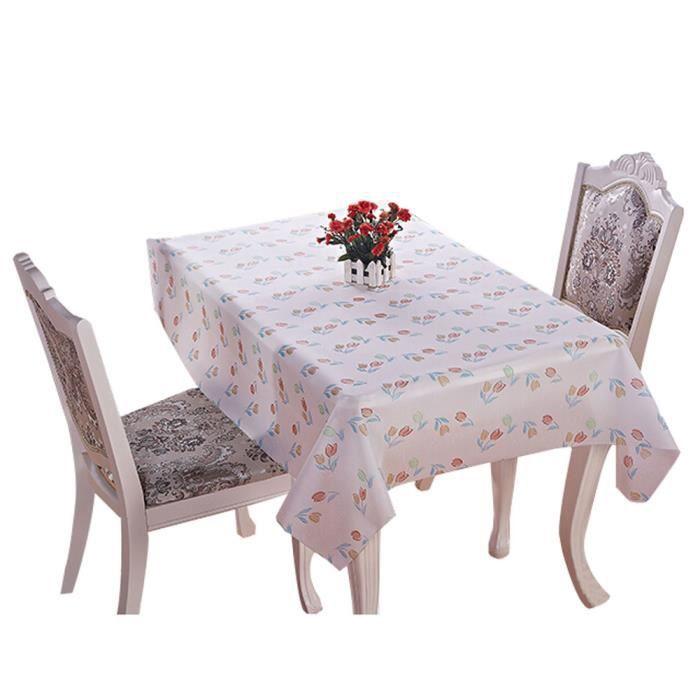 mode pvc tanche pratique nappe mat d 137 180cm achat vente nappe de table soldes. Black Bedroom Furniture Sets. Home Design Ideas