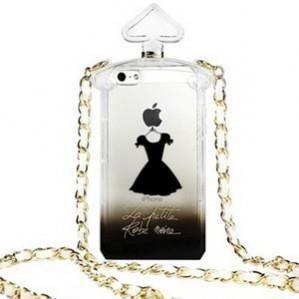 coque bouteille de parfum la petite robe noire iphone 5s noire achat coque bumper pas cher. Black Bedroom Furniture Sets. Home Design Ideas