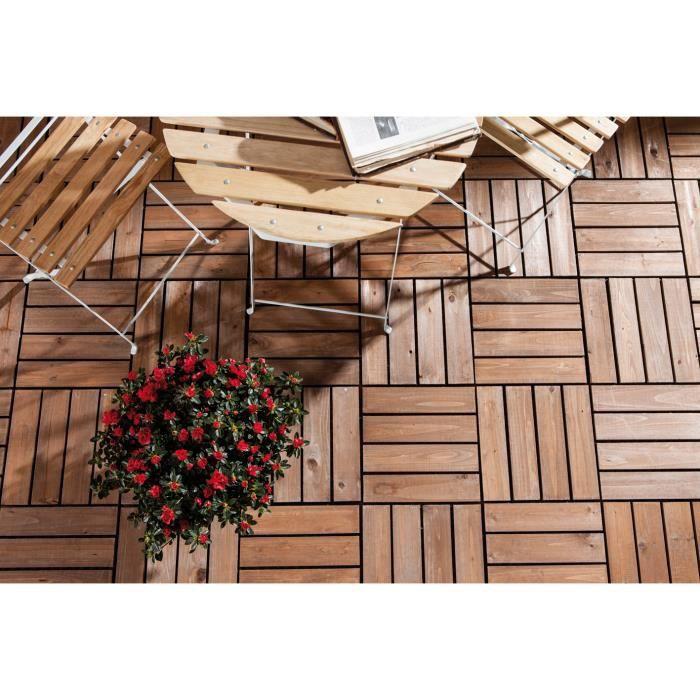 Biacchi ettore tuiles en bois morceaux de 30x30 6 for Meuble 30x30