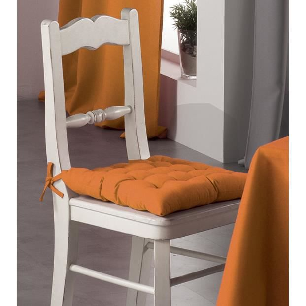 Assise de chaise charly mandarine achat vente coussin for Assise de chaise