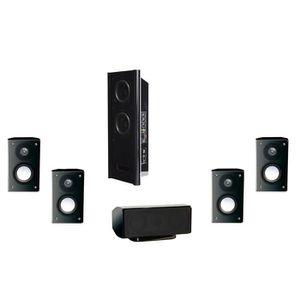 ADVANCE ACOUSTIC EZY-500 Pack Enceintes 5.1 noir