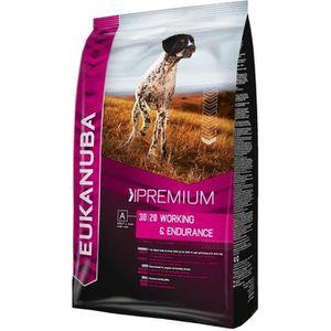 EUKANUBA Croquettes au poulet Premium Performance - Travail et endurance - 15kg - Pour chien adulte