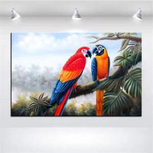 tableau perroquet achat vente tableau perroquet pas cher les soldes sur cdiscount cdiscount. Black Bedroom Furniture Sets. Home Design Ideas