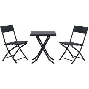 salon de jardin pour balcon achat vente salon de. Black Bedroom Furniture Sets. Home Design Ideas