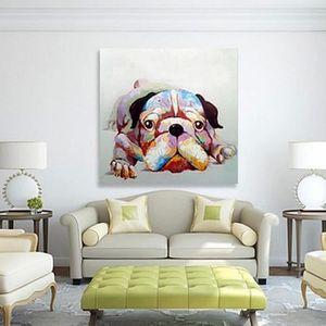 tableaux peinture sur toile chien achat vente tableaux peinture sur toile chien pas cher. Black Bedroom Furniture Sets. Home Design Ideas