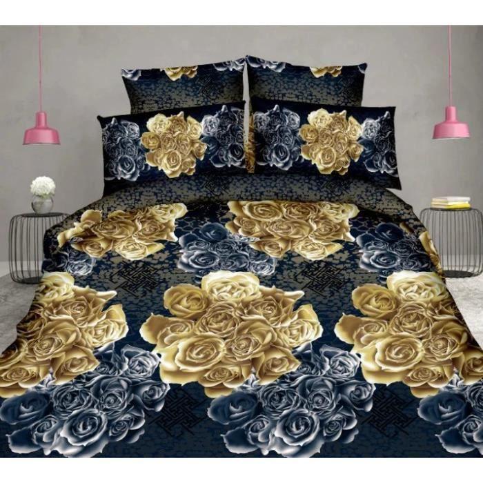 Chaud housse de couette 200 x 230cm 3d adulte parure de lit adulte bedding set luxury couette de - Meilleure marque de couette ...