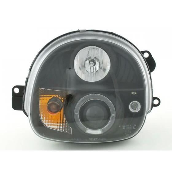 phares pour renault twingo an 93 00 noir achat vente phares optiques phares pour renault. Black Bedroom Furniture Sets. Home Design Ideas