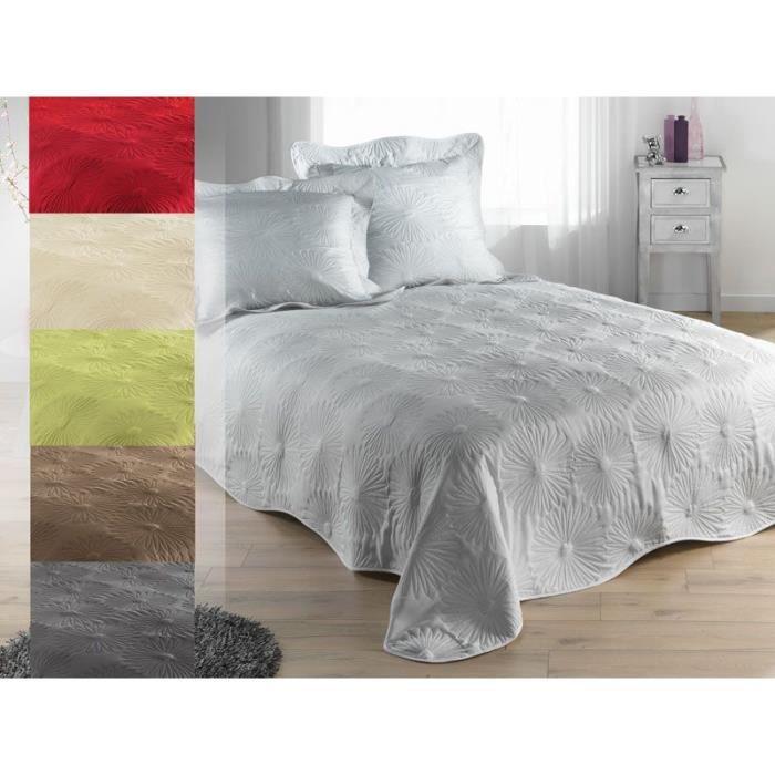 boutis couvre lit 150 x 230 cm taie neptune rouge achat vente jet e de lit boutis. Black Bedroom Furniture Sets. Home Design Ideas