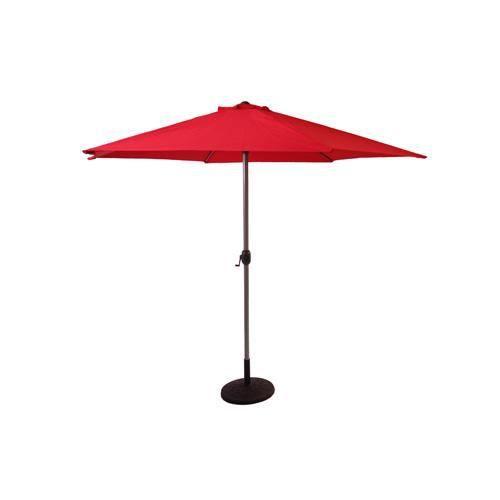 Parasol tenerife 3 m rouge achat vente parasol parasol tenerife 3 - Parasol prix discount ...