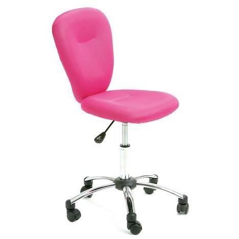 Fauteuil de bureau pezzi rose achat vente chaise de - Achat fauteuil de bureau ...