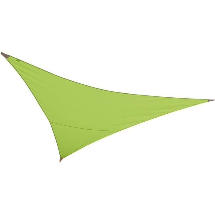 Jardiline voile ombrage triang first 3x3m vert p achat vente voile d 39 - Jardiline voile d ombrage ...