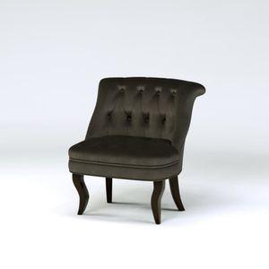 Fauteuil crapaud gris achat vente fauteuil crapaud gris pas cher les so - Soldes fauteuil crapaud ...
