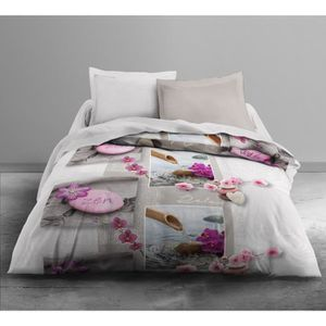 COUETTE TODAY FIRST Couette Imprimée Relax Flowers 220x240