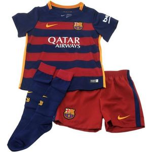 ENSEMBLE TENUE DE SPORT Kit enfant mixte complet Maillot Nike FC Barcelone