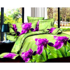 parure de couette 3d achat vente parure de couette 3d pas cher cdiscount. Black Bedroom Furniture Sets. Home Design Ideas