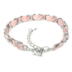 BRACELET - GOURMETTE Bracelet pour Charm's avec ruban satiné et ferm…