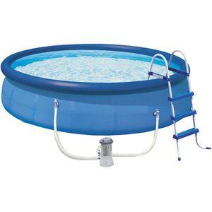 Piscine autoportante gonflable achat vente piscine for Piscine gonflable 2 boudins