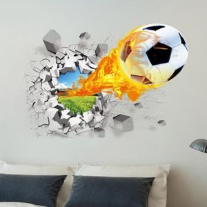 stickers 3d football achat vente stickers 3d football pas cher cdiscount