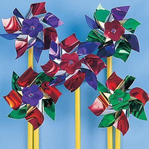 Moulins vent loisirs cr atifs pour les enfants lot de 12 achat vente moulin vent - Loisirs creatifs pour enfants ...