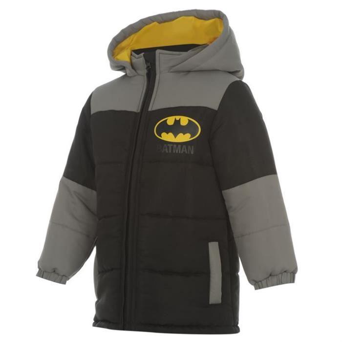manteau batman 3 4 ans noir achat vente manteau caban 2009949386914 cdiscount. Black Bedroom Furniture Sets. Home Design Ideas