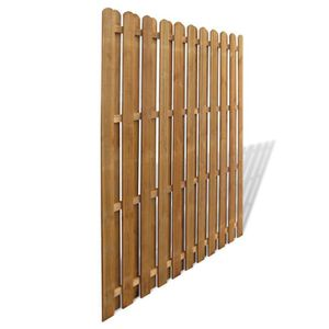 cloture panneaux bois achat vente cloture panneaux bois pas cher cdiscount. Black Bedroom Furniture Sets. Home Design Ideas