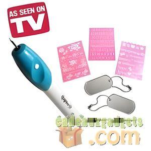 stylo graveur sans fil engrave it vu la tv achat vente graveur cdiscount. Black Bedroom Furniture Sets. Home Design Ideas