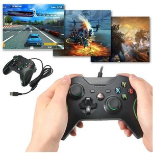 manette xbox one filaire achat vente manette xbox one. Black Bedroom Furniture Sets. Home Design Ideas